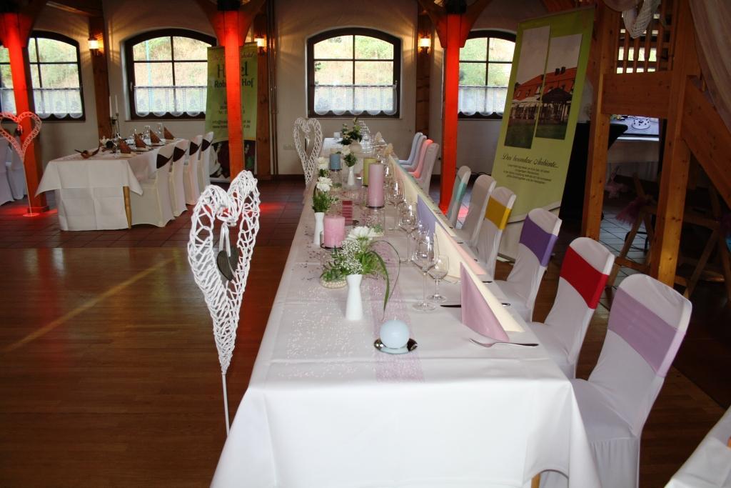 """Tischdekoration """"Candy"""" vom Hotel Robinien Hof"""