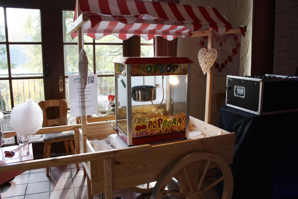 Popcorn Maschine zur Vermietung Fa. Eventmaker's